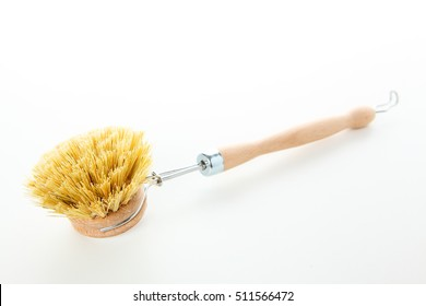 A dish brush with white background