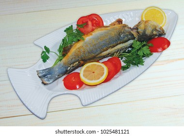 A dish of a delicious fish