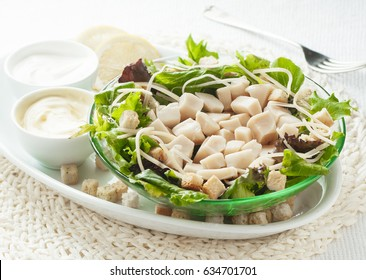 Dish prepared with cuttlefish