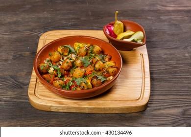dish of the restaurant