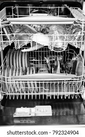 Dish washer interior