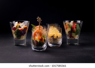 dishes for a buffet table