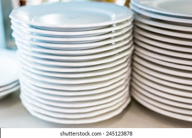 Dishes in the kitchen