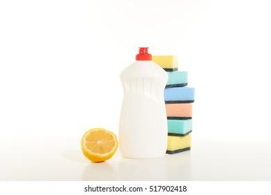 dishwashing detergent with lemon aroma