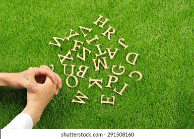 Disjointed letter of the alphabet