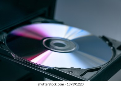 Disk in DVD-Rom.
