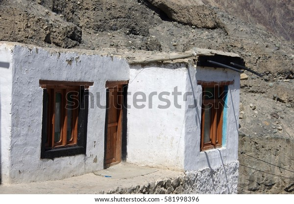 Diskit monastery in Ladakh, India
