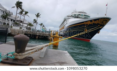 disney cruise ship stationed
