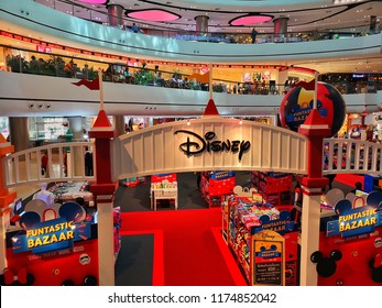 Disney Exhibition Booth in Department Store, Bangkok, Thailand, August 2018