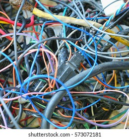 Disordered car cables