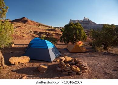 Dispersed Camping In The Utah Desert