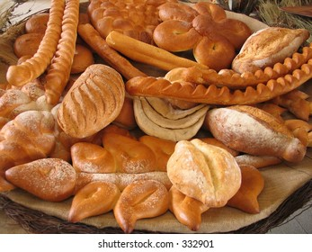 Display of bakery products