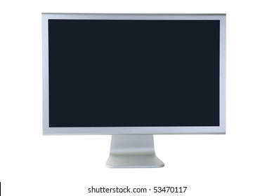 Display isolated on white