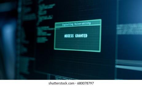 Imágenes, fotos de stock y vectores sobre Hacking Attack