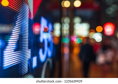 display stock market data