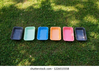 disposable foam polystyrene tray