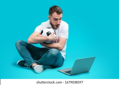 Soccer On Laptop Images, Stock Photos & Vectors   Shutterstock