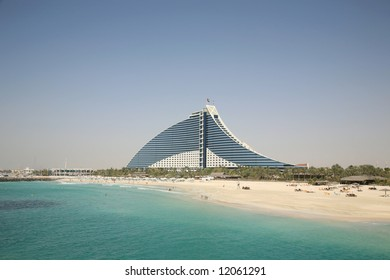 Distant View of Jumeirah Beach Hotel