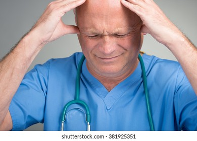 Distraught Doctor