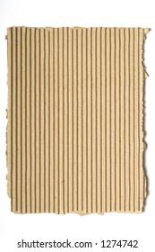 Distressed Corrugated Cardboard Background 12.4 MP