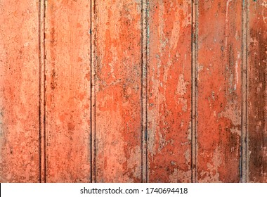 Distressed pealing and chipped wood background.