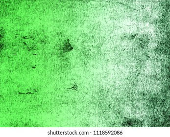 A distressed print textured background in graduated shades of green. Scanned from an original lino print.