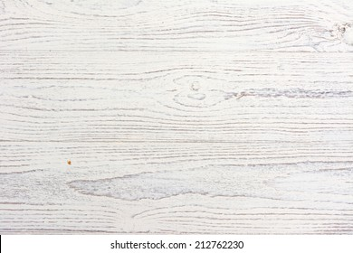 Distressed and Weathered White Wood Background