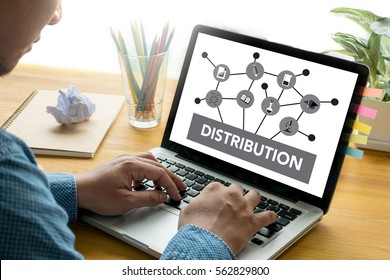 DISTRIBUTION  Fintech technology ,  Industrials warehouse for distribution and storage
