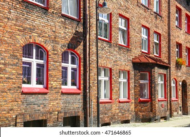 District of Katowice - Nikiszowiec, Poland, historical buildings