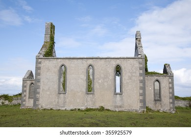 Disused Church, Kilronan Village, Inishmore, Aran Island, Ireland
