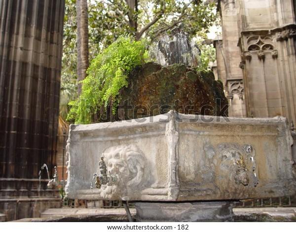 Disused Fountain