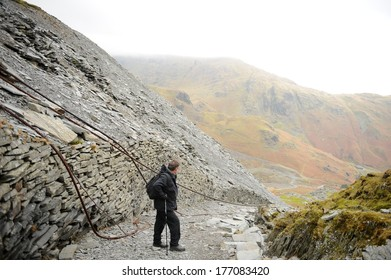 The Disused Slate Mines at Coniston in the Lake District.