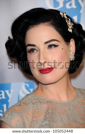 2eb3feac35f5 Dita Von Teese An Evening Women Stock Photo (Edit Now) 105052448 ...