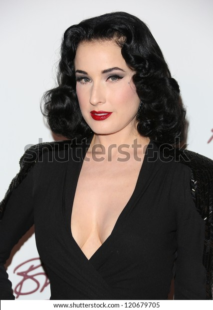 Dita Von Teese arriving for The British Fashion Awards 2012 held at The Savoy, London. 27/11/2012 Picture by: Henry Harris