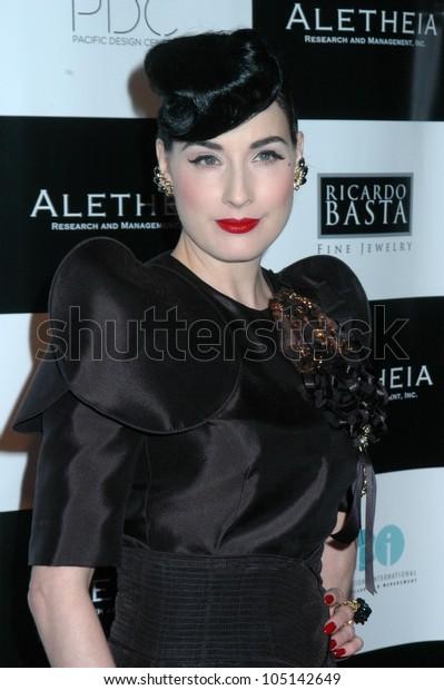 Dita Von Teese Britweek Designer Year Stock Photo Edit Now 105142649