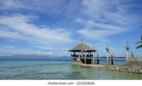 a dive resort in Moalboal, Philippines