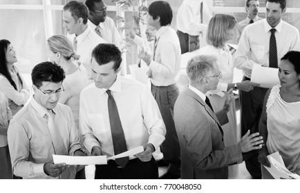 Diverse business office shoot