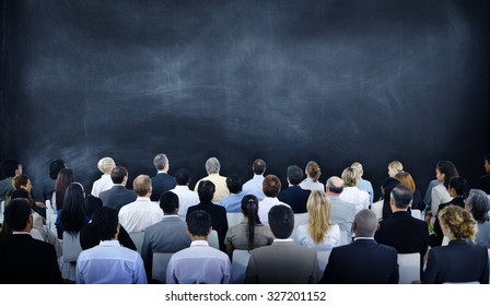 Diverse Business People Conference Audience Concept