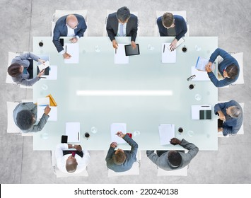 Diverse Business People Having a Meeting in the Office