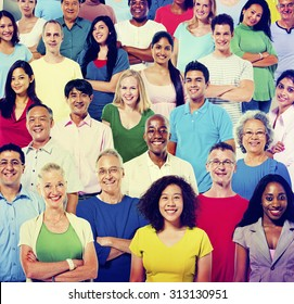 Diverse Diversity Ethnic Ethnicity Team Partnership Concept