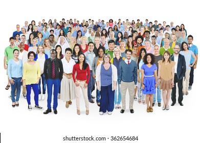 Diverse Diversity Multiethnic Cheerful Variation Concept