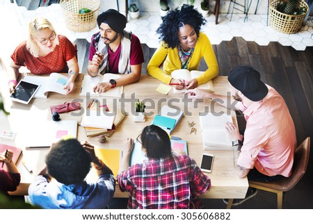 Diverse Group People Working Together Concept Stock Photo Edit Now