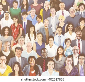 Diverse People Connection Togetherness Friendship Concept