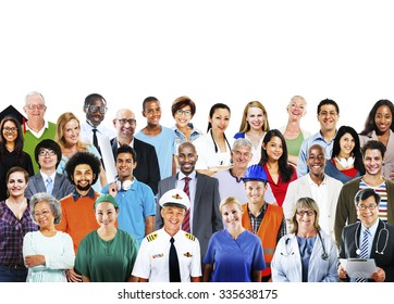 Diverse People Professional Occupation Society Concept