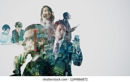 Diversity business concept,