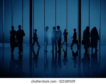 Diversity Business People Commuter Corporate Concept