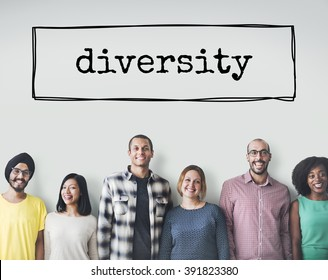 Diversity Ethnicity Diverse Different Multiethnic Concept