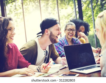 Diversity Friends Brainstorming Teamwork Meeting Concept
