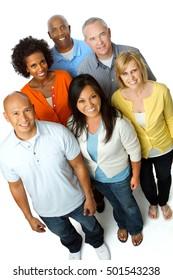 Diversity People Group. Unity. Community.
