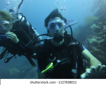 DIVING/WAKATOBI/INDONESIA-JULY 2012: Diving in indonesia is wild